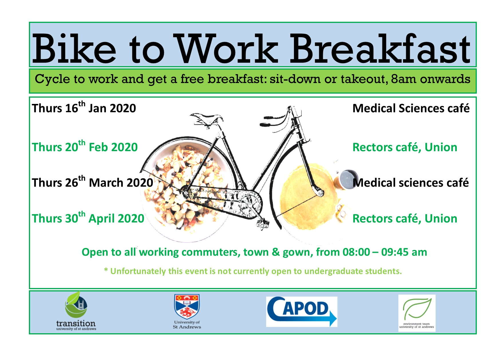 Bike To Work Breakfast - Rectors Cafe @ Rectors cafe