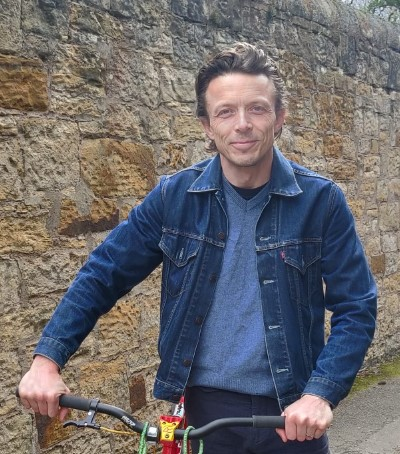 Jacob Lovatt: Active Travel Network Project Worker for St Andrews!